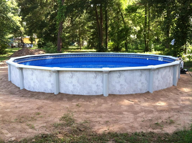 Above ground pools houston above ground pool sales houston for Top of the line above ground pools
