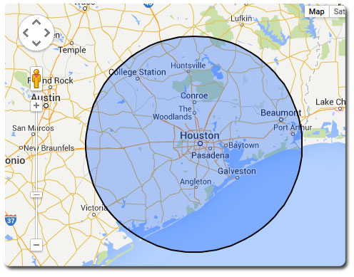 Houston-Above-Ground-Pool---Area-of-Operation