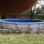 Above Ground Pool - April - 2