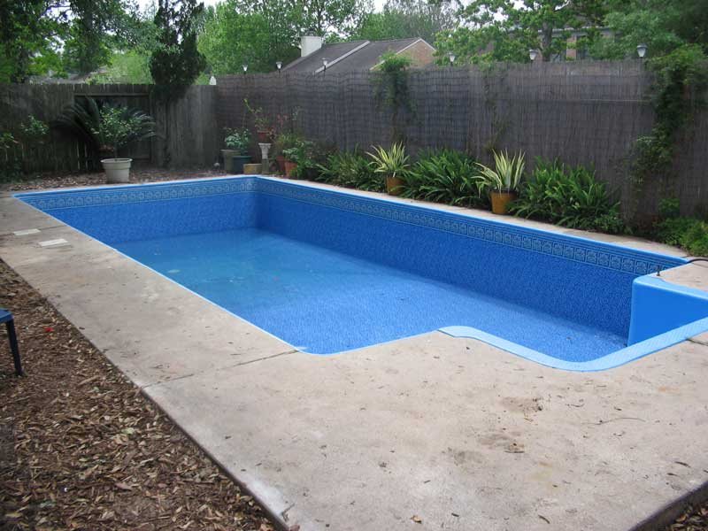 Houston Vinyl Pool Photos Vinyl Liner Pool Gallery
