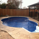 Houston Inground Vinyl Pool - April - 4