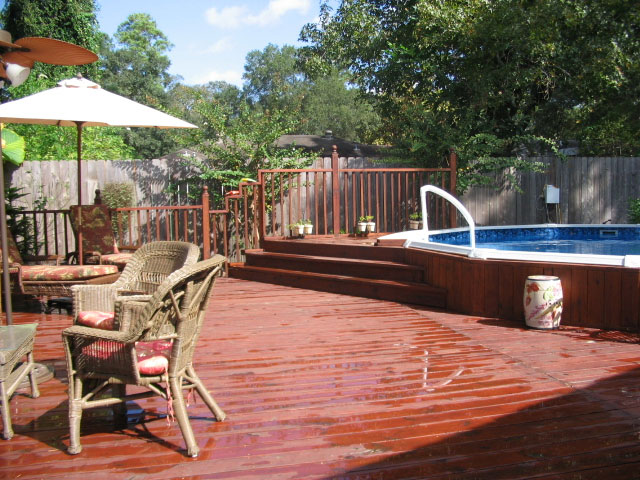 Above Ground Pools Houston